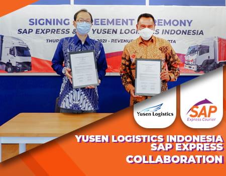 kerjasama yusen logistics dengan sap express