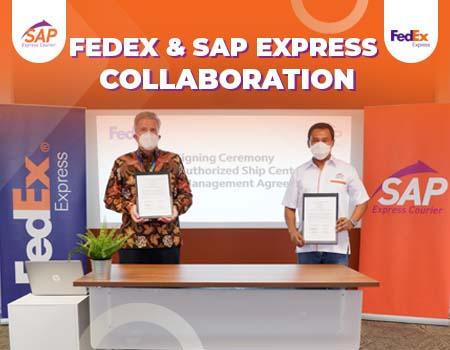 kerjasama sap express dengan fedex