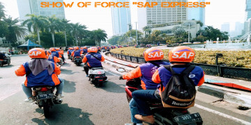 juara fotografi show of force sap express