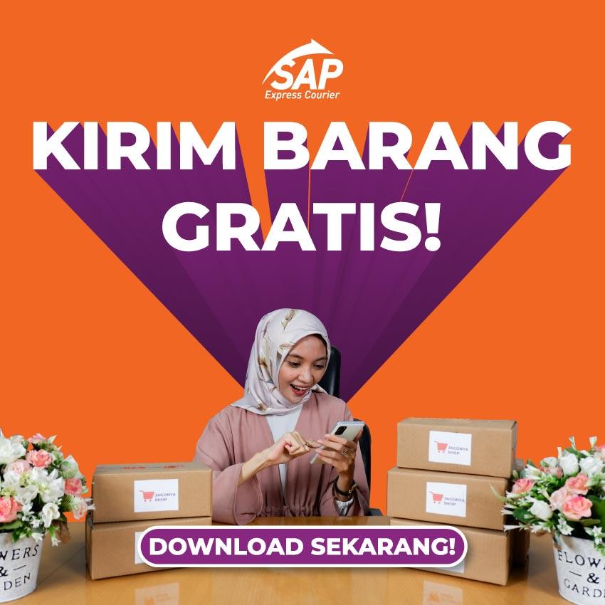 promo gratis ongkir kirim barang dengan sap express mobile